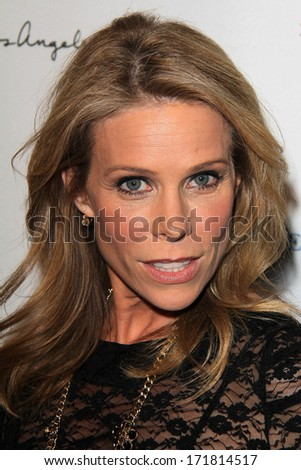 LOS ANGELES - JAN 5:  Cheryl Hines at the BCS National Championship Party at Pasadena Convention Center on January 5, 2014 in Pasadena, CA - stock photo
