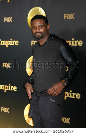 "LOS ANGELES - JAN 6:  Darius McCrary at the FOX TV ""Empire"" Premiere Event at a ArcLight Cinerama Dome Theater on January 6, 2014 in Los Angeles, CA - stock photo"