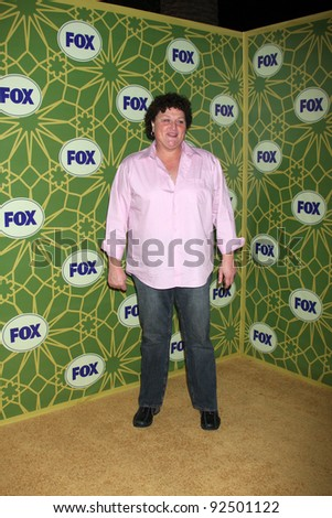 LOS ANGELES - JAN 8:  Dot Marie Jones arrives at the Fox TCA Party - Winter 2012 at Castle Green on January 8, 2012 in Pasadena, CA - stock photo