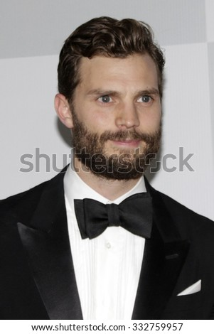 LOS ANGELES - JAN 11:  Jamie Dornan at the NBC Post Golden Globes Party at a Beverly Hilton on January 11, 2015 in Beverly Hills, CA - stock photo