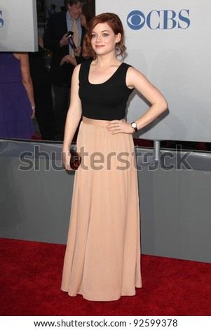 LOS ANGELES - JAN 11:  Jane Levy arrives at  People's Choice Awards 2012 at Nokia Theater at LA Live on January 11, 2012 in Los Angeles, CA - stock photo