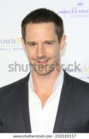 LOS ANGELES - JAN 8: Jason Dohring at the TCA Winter 2015 Event For Hallmark Channel and Hallmark Movies & Mysteries at Tournament House on January 8, 2015 in Pasadena, CA - stock photo