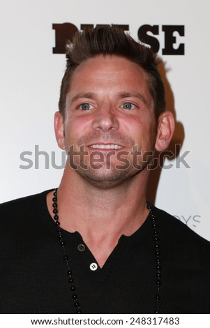 """LOS ANGELES - JAN 29:  Jeff Timmons at the """"Better Call Saul"""" Series Premiere Screening at a Regal 14 Theaters on January 29, 2015 in Los Angeles, CA - stock photo"""