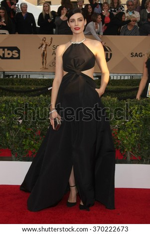 LOS ANGELES - JAN 30:  Jessica Pare at the 22nd Screen Actors Guild Awards at the Shrine Auditorium on January 30, 2016 in Los Angeles, CA - stock photo