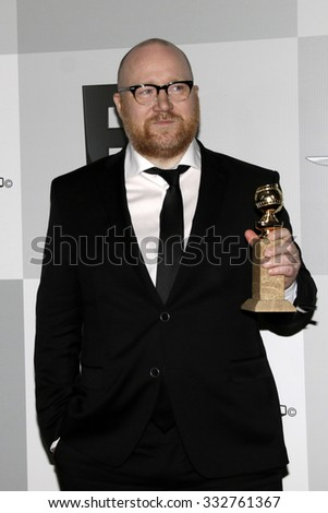 LOS ANGELES - JAN 11:  Johann Johansson at the NBC Post Golden Globes Party at a Beverly Hilton on January 11, 2015 in Beverly Hills, CA - stock photo