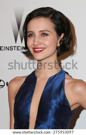 LOS ANGELES - JAN 11:  Julia Goldani Telles at the The Weinstein Company / Netflix Golden Globes After Party at a Beverly Hilton Adjacent on January 11, 2015 in Beverly Hills, CA - stock photo