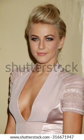 LOS ANGELES - JAN 13 - Julianne Hough arrives at the 2013 Weinstein Company Golden Globes After Party  on January 13, 2013 in Beverly Hills, CA              - stock photo