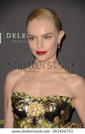 LOS ANGELES - JAN 10:  Kate Bosworth at the Weinstein Company & Netflix 2016 Golden Globe After Party at the Beverly Hilton on January 10, 2016 in Beverly Hills, CA - stock photo