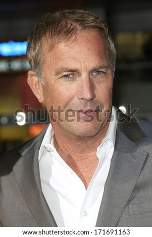 LOS ANGELES - JAN 15: Kevin Costner at the premiere of Paramount Pictures' 'Jack Ryan: Shadow Recruit' at TCL Chinese Theater on January 15, 2014 in Los Angeles, CA - stock photo