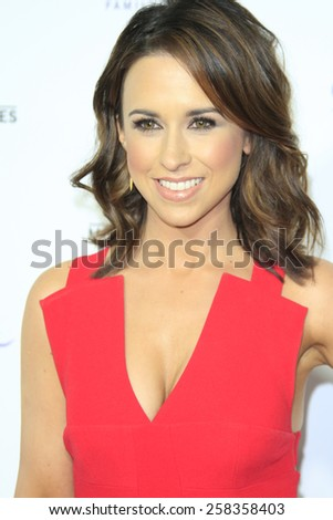 LOS ANGELES - JAN 8: Lacey Chabert at the TCA Winter 2015 Event For Hallmark Channel and Hallmark Movies & Mysteries at Tournament House on January 8, 2015 in Pasadena, CA - stock photo