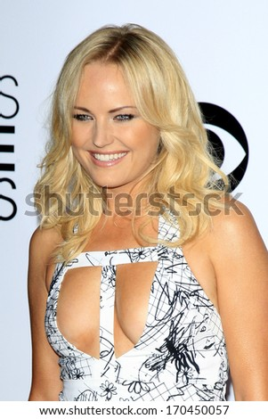 LOS ANGELES - JAN 8:  Malin Akerman at the People's Choice Awards 2014 Arrivals at Nokia Theater at LA LIve on January 8, 2014 in Los Angeles, CA - stock photo