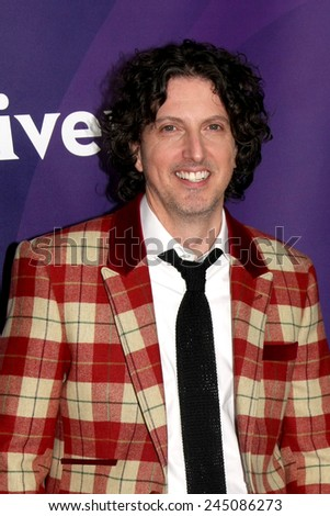 LOS ANGELES - JAN 15:  Mark Schwahn at the NBCUniversal Cable TCA Winter 2015 at a The Langham Huntington Hotel on January 15, 2015 in Pasadena, CA - stock photo