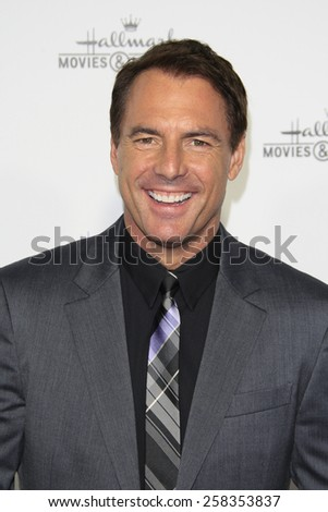 LOS ANGELES - JAN 8: Mark Steines at the TCA Winter 2015 Event For Hallmark Channel and Hallmark Movies & Mysteries at Tournament House on January 8, 2015 in Pasadena, CA - stock photo