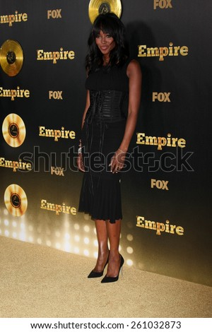 "LOS ANGELES - JAN 6:  Naomi Campbell at the FOX TV ""Empire"" Premiere Event at a ArcLight Cinerama Dome Theater on January 6, 2014 in Los Angeles, CA - stock photo"