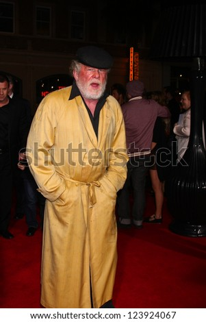 LOS ANGELES - JAN 7:  Nick Nolte arrives at the 'Gangster Squad' Premiere at Graumans Chinese Theater on January 7, 2013 in Los Angeles, CA - stock photo