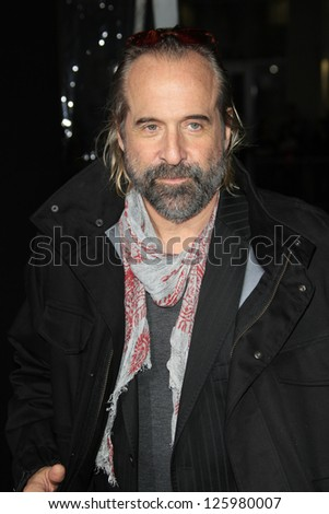 LOS ANGELES - JAN 24: Peter Stormare at the LA premiere of Paramount Pictures' 'Hansel And Gretel: Witch Hunters' at Grauman's Chinese Theater on January 24, 2013 in Los Angeles, California - stock photo