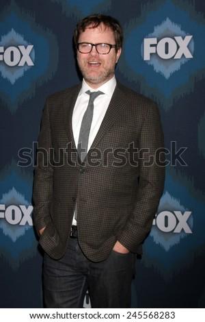 LOS ANGELES - JAN 17:  Rainn Wilson at the FOX TCA Winter 2015 at a The Langham Huntington Hotel on January 17, 2015 in Pasadena, CA - stock photo