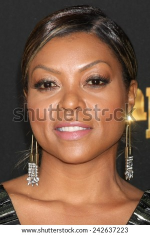 "LOS ANGELES - JAN 6:  Taraji P Henson at the FOX TV ""Empire"" Premiere Event at a ArcLight Cinerama Dome Theater on January 6, 2014 in Los Angeles, CA - stock photo"