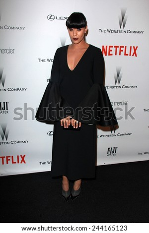LOS ANGELES - JAN 11:  Tia Mowry at the The Weinstein Company / Netflix Golden Globes After Party at a Beverly Hilton Adjacent on January 11, 2015 in Beverly Hills, CA - stock photo