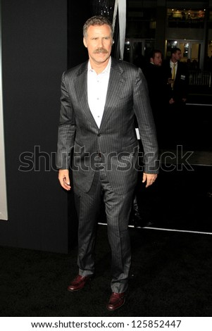LOS ANGELES - JAN 23: Will Ferrell at the LA premiere of Paramount Pictures' 'Hansel And Gretel: Witch Hunters' at Grauman's Chinese Theater on January 24, 2013 in Los Angeles, California - stock photo