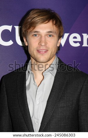 LOS ANGELES - JAN 15:  William Moseley at the NBCUniversal Cable TCA Winter 2015 at a The Langham Huntington Hotel on January 15, 2015 in Pasadena, CA - stock photo