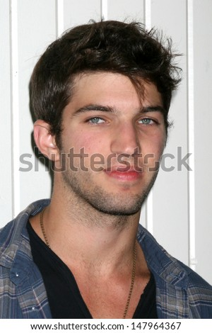 LOS ANGELES - JUL 27:  Bryan Craig arrives at the 2013 General Hospital Fan Club Luncheon  at the Sportsman's Lodge on July 27, 2013 in Studio City, CA - stock photo