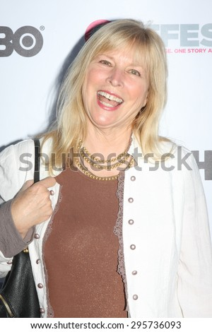 """LOS ANGELES - JUL 11:  Candy Clark at the """"Tab Hunter Confidential"""" at Outfest at the Directors Guild of America on July 11, 2015 in Los Angeles, CA - stock photo"""