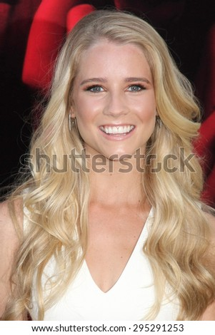 "LOS ANGELES - JUL 7:  Cassidy Gifford at the ""The Gallows"" Premiere at the Hollywood High School on July 7, 2015 in Los Angeles, CA - stock photo"