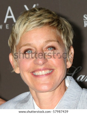 LOS ANGELES - JUL 22:  Ellen DeGeneres arrives at the Neil Lane Bridal Collection Debut at Drai's at The W Hollywood Rooftop on July22, 2010 in Los Angeles, CA .... - stock photo