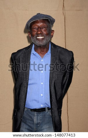LOS ANGELES - JUL 29:  Garrett Morris arrives at the 2013 CBS TCA Summer Party at the private location on July 29, 2013 in Beverly Hills, CA - stock photo