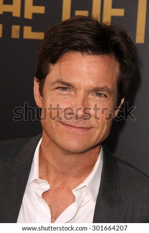 "LOS ANGELES - JUL 30:  Jason Bateman at the ""The Gift"" World Premiere at the Regal Cinemas on July 30, 2015 in Los Angeles, CA - stock photo"