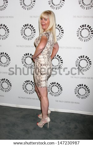 """LOS ANGELES - JUL 16:  Jennifer Elise arrives at  """"An Evening With Web Therapy: The Craze Continues..."""" at the Paley Center for Media on July 16, 2013 in Beverly Hills, CA - stock photo"""