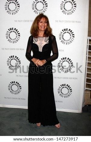 """LOS ANGELES - JUL 16:  Kathy Lennon arrives at  """"An Evening With Web Therapy: The Craze Continues..."""" at the Paley Center for Media on July 16, 2013 in Beverly Hills, CA - stock photo"""