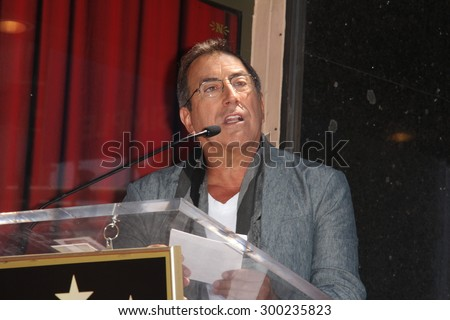LOS ANGELES - JUL 24:  Kenny Ortega at the Kristin Chenoweth Hollywood Walk of Fame Star Ceremony at the Hollywood Blvd on July 24, 2015 in Los Angeles, CA - stock photo
