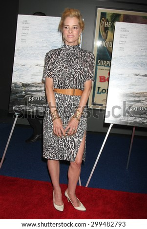 "LOS ANGELES - JUL 9:  Parker Posey at the ""Irrational Man"" Los Angeles Premiere at the Writer's Guild of America Theater on July 9, 2015 in Beverly Hills, CA  - stock photo"