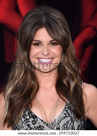 """LOS ANGELES - JUL 07:  Pfeifer Brown arrives to the """"The Gallows"""" Los Angeles Premiere  on July 07, 2015 in Hollywood, CA                 - stock photo"""