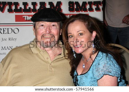 Los angeles jul 24 william smith amp wife joanne cervelli at the