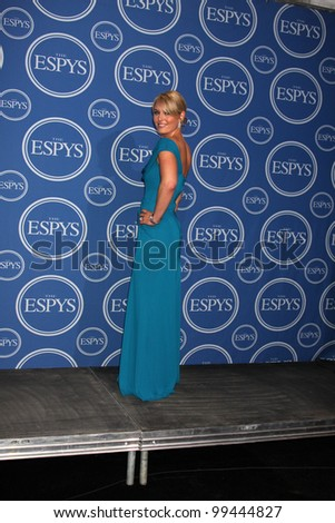 LOS ANGELES - JULY 14:  Lindsey Vonn  in the Press Room of the 2010 ESPY Awards at Nokia Theater - LA Live on July 14, 2010 in Los Angeles, CA . - stock photo