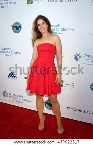 LOS ANGELES - JUN 18: Ana Ortiz at the Stand For Kids Gala at the Twentieth Century Fox Studios Lot on  ,  June 18, 2016 in Century City, CA - stock photo