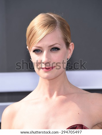"LOS ANGELES - JUN 28:  Beth Behrs arrives to the ""Terminator Genisys"" Los Angeles Premiere  on June 28, 2015 in Hollywood, CA                 - stock photo"