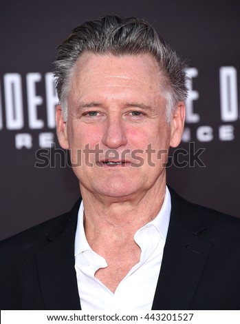 "LOS ANGELES - JUN 20:  Bill Pullman arrives to the ""Independence Day: Resurgence"" Los Angeles Premiere  on June 20, 2016 in Hollywood, CA.                 - stock photo"