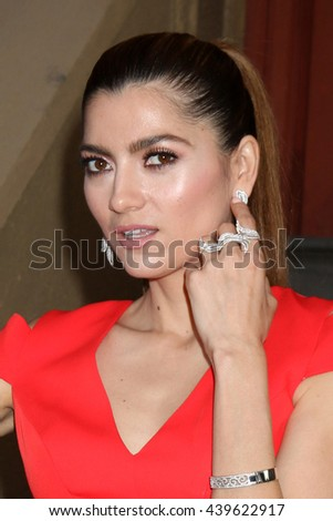 LOS ANGELES - JUN 18: Blanca Blanco at the Stand For Kids Gala at the Twentieth Century Fox Studios Lot on  ,  June 18, 2016 in Century City, CA - stock photo