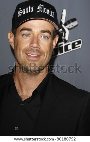 LOS ANGELES - JUN 29: Carson Daly at the 'The Voice' Live Finale After Party at the Avalon Hollywood on June 29, 2011 in Los Angeles, California - stock photo