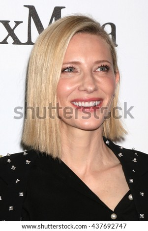 LOS ANGELES - JUN 15:  Cate Blanchett at the Women In Film 2016 Crystal and Lucy Awards at the Beverly Hilton Hotel on June 15, 2016 in Beverly Hills, CA - stock photo