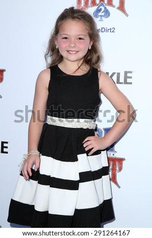 "LOS ANGELES - JUN 24:  Chloe Guidry at the ""Joe Dirt 2: Beautiful Loser"" Premiere at the Sony Studios on June 24, 2015 in Culver City, CA - stock photo"