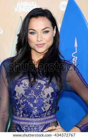 LOS ANGELES - JUN 8:  Christina Ochoa at the Animal Kingdom Premiere Screening at the The Rose Room on June 8, 2016 in Venice Beach, CA - stock photo