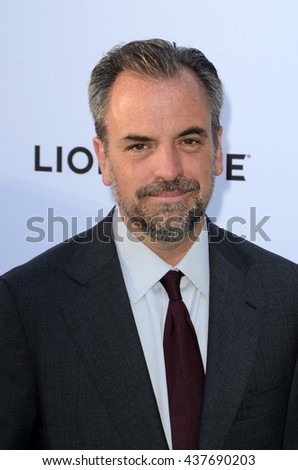 LOS ANGELES - JUN 15:  Craig Wright at the Greenleaf OWN Series Premiere at the The Lot on June 15, 2016 in West Hollywood, CA - stock photo
