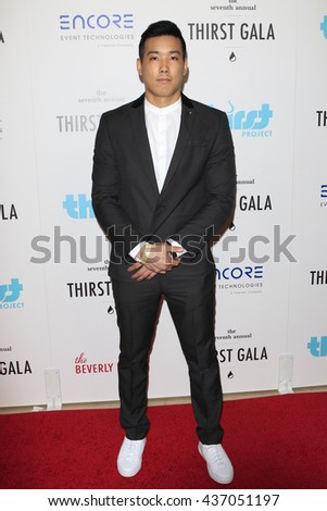 LOS ANGELES - JUN 13:  Evan Fong at the 7th Annual Thirst Gala at the Beverly Hilton Hotel on June 13, 2016 in Beverly Hills, CA - stock photo