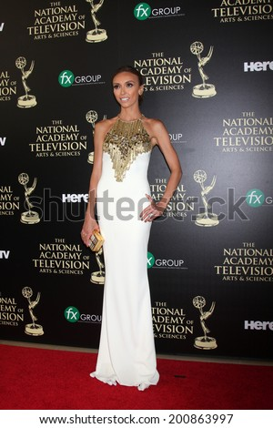 LOS ANGELES - JUN 22:  Giuliana Rancic at the 2014 Daytime Emmy Awards Arrivals at the Beverly Hilton Hotel on June 22, 2014 in Beverly Hills, CA - stock photo
