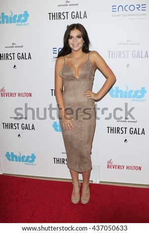 LOS ANGELES - JUN 13:  Griffin Arnlund at the 7th Annual Thirst Gala at the Beverly Hilton Hotel on June 13, 2016 in Beverly Hills, CA - stock photo